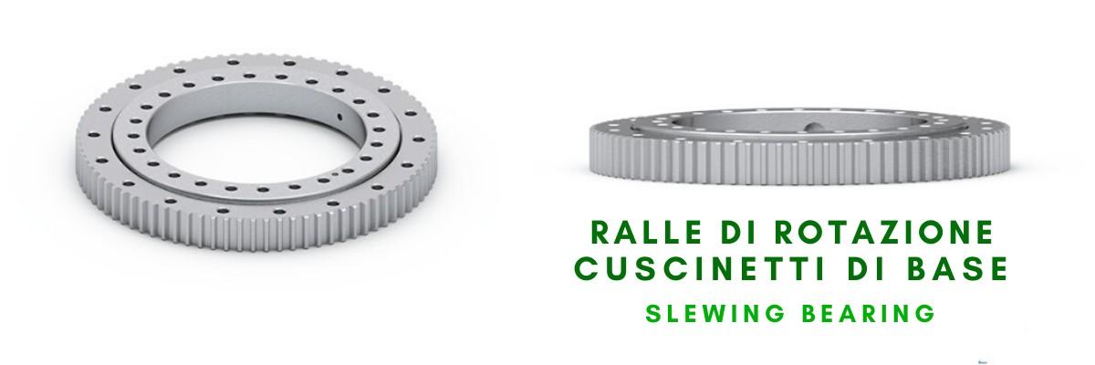 Ralle di rotazione Cuscinetti di base