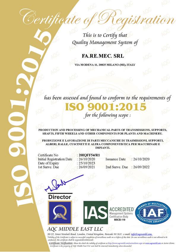 certificate-QMS-FA-RE-MEC-AQC-2020